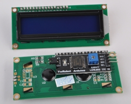 New for Arduino IIC/I2C/TWI 1602 Serial LCD Module Display Blue