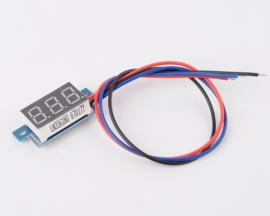 Blue LED Panel Meter Digital Voltmeter DC 0-99.9V