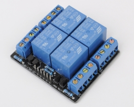 5V 4-Channel Relay Module Switch Board For Arduino PIC ARM AVR D