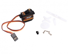 EMAX ES08MA 12g/1.8kg 10sec Metal Servo High-speed Upgrade mg90