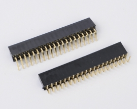 2x20 Pin 2.54mm Double Row Right Angle Female Pin Header