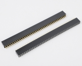 2x40 Pin 2.54mm Double Row Female Pin Header