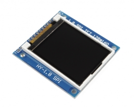 "1.8"" Serial 128X160 SPI TFT LCD Module PCB Adapter w/SD Socket"