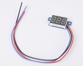 DC 0-9.99V Blue LED Panel Meter Digital Voltmeter