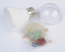 60 LEDs Energy-Saving Lamps DIY Kits Electronic Suite