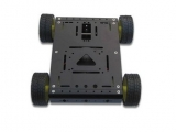 4WD Drive Aluminum Mobile Robot Car Chassis For  Arduino Platfor