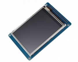 "2.4"" TFT LCD Module Display + Touch Panel Screen + PCB Adapter"
