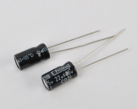 22uF 25V Radial Electrolytic Capacitor