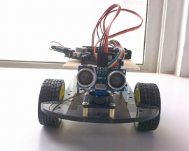 Ultrasonic Smart Car Kit For Arduino