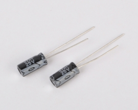 47UF 25V Radial Electrolytic Capacitor