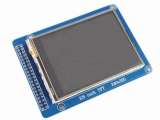 "2.8"" TFT LCD Module Display + Touch Panel + PCB adapter"