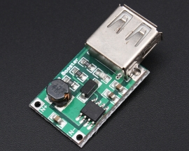 DC-DC Converter Step Up Boost Module 2-5V to 5V 1200mA 1.2A