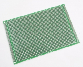 Universal Double Side Board PCB 8x12cm 1.6mm 2.54mm DIY Prototyp