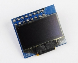 "SPI 0.96"" 128X64 Blue OLED Display Module for Arduino AVR PIC"