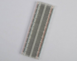 Transparent Mini MB-102 Solderless Breadboard Protoboard 830 Poi