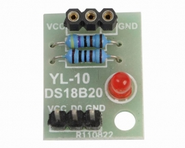 DS18B20 Temperature Sensor Shield without DS18B20 Chip