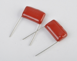 CBB22 Through Hole Polypropylene Film Capacitors 1uF 400V