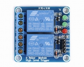 5V 2-Channel Relay Module High Level Triger Relay shield for Ard