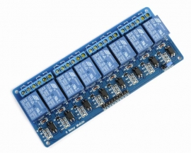 5V 8-Channel Relay Module with Optocoupler Low Level Triger for