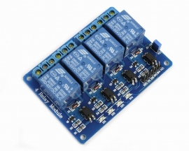 5V 4-Channel Relay Module Low Level Triger with Optocoupler for