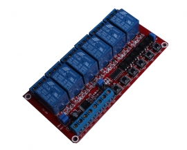 12V 6-Channel Relay Module Self-lock/Interlock/Momentary Relay