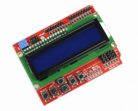 LCD Keypad Shield Blue Backlight LCD1602 For Arduino