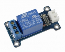 ICStation 9V 1-Channel Relay Module Low Level Triger for Arduino