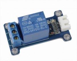 ICStation 24V 1-Channel Relay Module Low Level Triger for Arduin