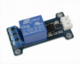 ICStation 9V 1-Channel Relay Module High Level Triger Optocouple