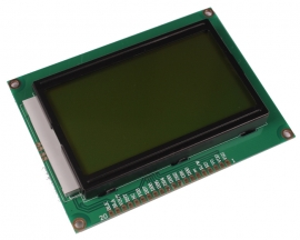 LCD12864 3.3V Yellow Backlight Graphic LCD module LCM 12864