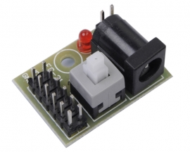 Power Supply Shield Module Pinboard 5.5x2.1mm Adapter Plate for