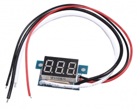 Red LED Panel Meter DC 0 To 10A Mini Digital Ammeter DC0-10A