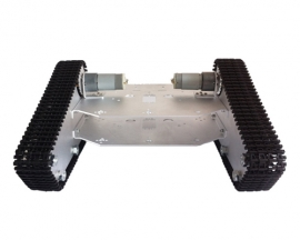 Robo-Soul TK-100 White Crawler Robot Chassis Triangle Mobile Pla