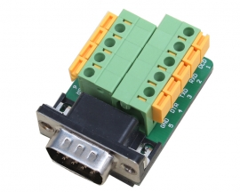 DB9-G6 DB9 Teeth Type Connector 9Pin Male Adapter Terminal Modul