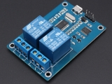 ICStation MICRO USB Control 5V 2-Channel Relay Module ICSE012A