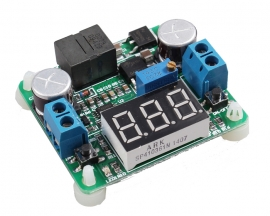 DC-DC Adjustable Step Up and Down Power Buck and Boost Voltage Converter Voltmeter Disp