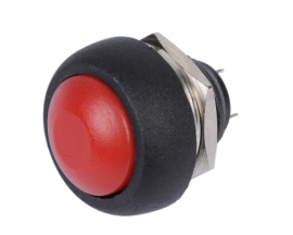 [G126]Red Momentary Contact Push Button Switch 12mm
