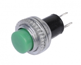 [131]Green Locking Latching OFF- ON Push Button 12mm DS-314