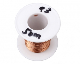0.3mm 50m Electromagnetism Enamelled Wire for Freescale Smart Ca