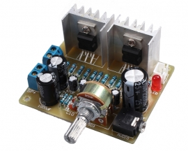 ICStation DIY Kit 2.0 Dual-Channel TDA2030A Power Amplifier