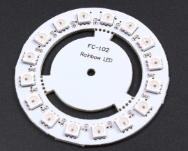 WS2811 5050 RGB LED Lamp Panel Module Round 16-Bit 60mm 5V Rainb