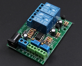 DC 12V 2-Channel Voltage Comparator LM393 Comparator Module