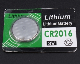 CR2016 Button Batteries  3V Lithium Battery