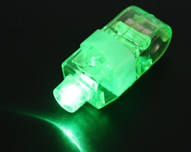 Red Green Blue White Flashing Finger Light Ring lights for Funny