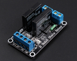 5V 2 Channel SSR Solid-State Relay High Level Trigger 240V 2A