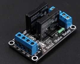 5V 2 Channel SSR Solid-State Relay Low Level Trigger 240V 2A