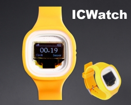 ICStation ICWatch Wearable DIY Watch for Arduino Yellow