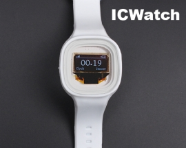 ICStation ICWatch Wearable DIY Watch for Arduino White