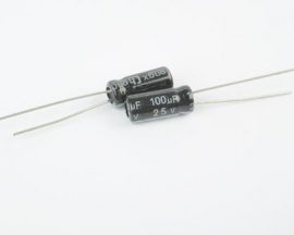 100uF 25V Radial Electrolytic Capacitor