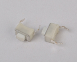 3X6X5mm Tact Switches White Press Key